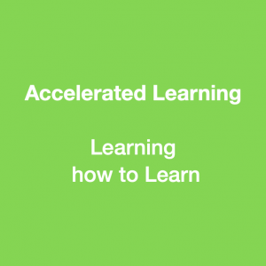 Accelerated Learning, learning how to learn
